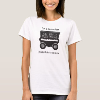 Maui Mobile Music Lessons Womens Tee Shirt