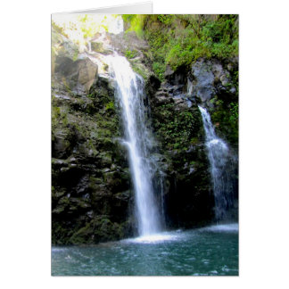 Maui Waterfalls Card