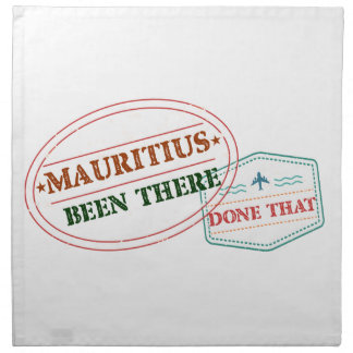 Mauritius Been There Done That Napkin