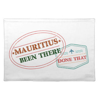 Mauritius Been There Done That Placemat
