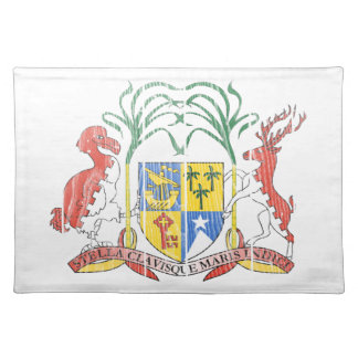 Mauritius Coat Of Arms Placemat