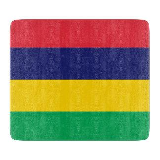 Mauritius Flag Cutting Board
