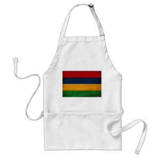 Mauritius Flag Standard Apron