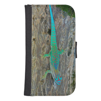 Mauritius Lowland Forest Day Gecko Samsung S4 Wallet Case
