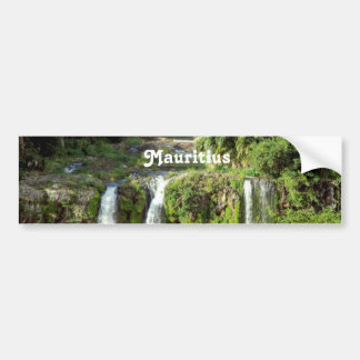 Mauritius Waterfalls Bumper Sticker