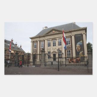 Mauritshuis Rectangular Sticker