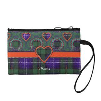Mavor clan Plaid Scottish kilt tartan Coin Purse
