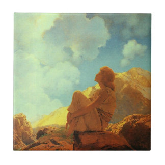 Maxfield Parrish Morning (Spring) Vintage Art Tile