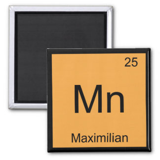 Periodic table of the elements fridge magnets zazzle maximilian name chemistry element periodic table magnet urtaz Choice Image