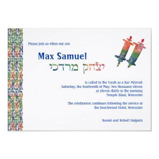 Max's Torah Invite - 3399
