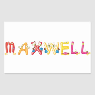 Maxwell Sticker