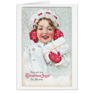 May All the Christmas Joys Be Yours Greeting Card