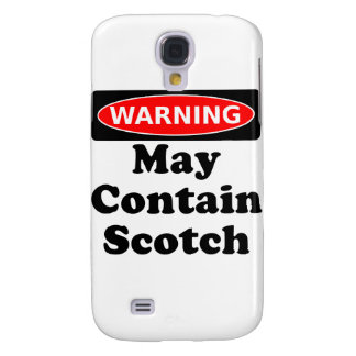 May Contain Scotch Galaxy S4 Case