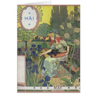 May Greeting Card