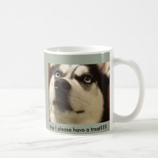 May I have a Treat? Husky Mug