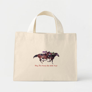 May The Horse Be With You! Mini Tote Bag