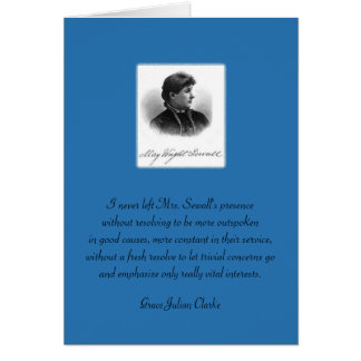 May Wright Sewall-You Inspire Me Card