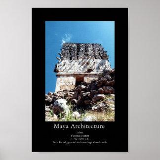Maya Architecture- Labna Poster