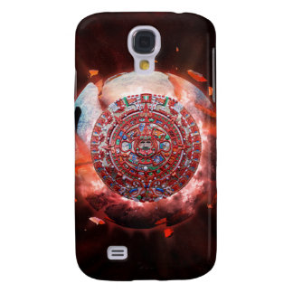 Mayan Armageddon Galaxy S4 Case