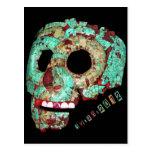 Mayan Mask-2012 Post Cards