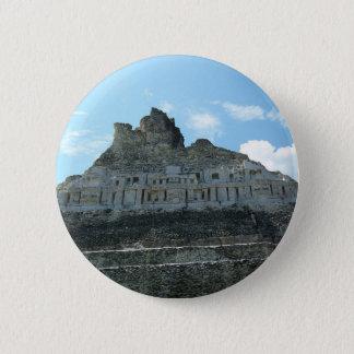 Mayan Ruins - xunantunich belize 6 Cm Round Badge