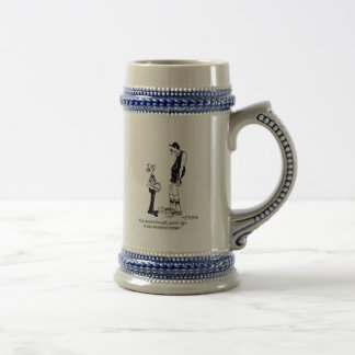 Maybe it Was Incidental Contact? Beer Steins