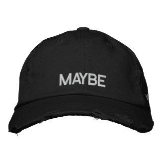 maybe yes. maybe no baseball cap