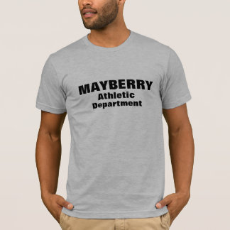 MAYBERRY Athletic Department T-Shirt