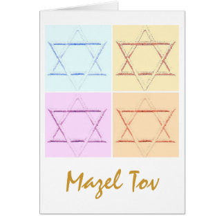 Mazel Tov/Good Luck Greeting Card