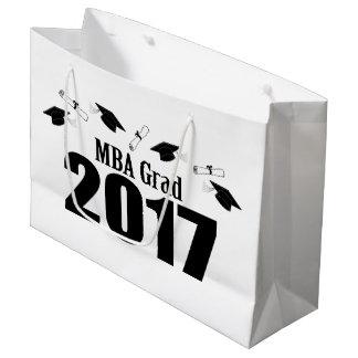 MBA Grad 2017 Graduation Gift Bag (Black)