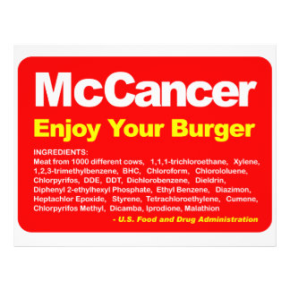 McCancer Flyer
