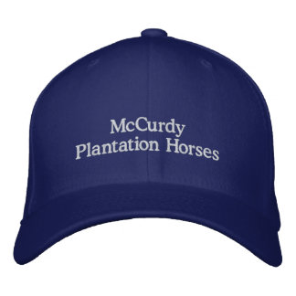 McCurdy Plantation Horses Embroidered Cap