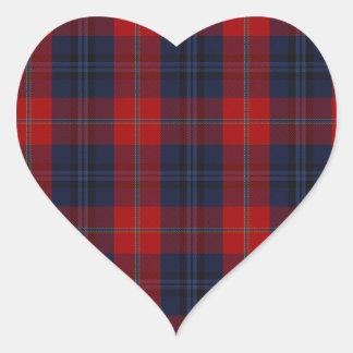 McKnight Clan Tartan Heart Sticker