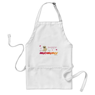 mcoct19 Puggle Fawn Mommy Standard Apron