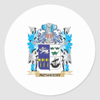 Mcsheehy Coat of Arms - Family Crest Round Sticker