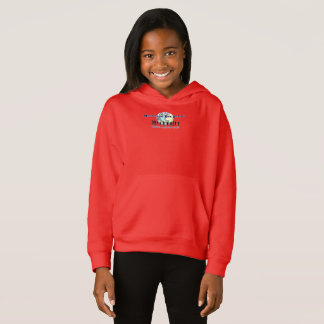 MDPSC GIRLS' RED PULL OVER HOODIE