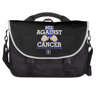 Me Against Anal Cancer Laptop Commuter Bag