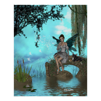 ME and the faeries 18 Print