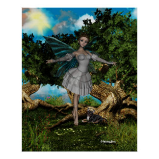ME and the faeries 3 Print