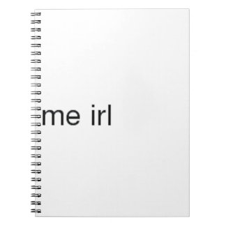 me irl notebooks
