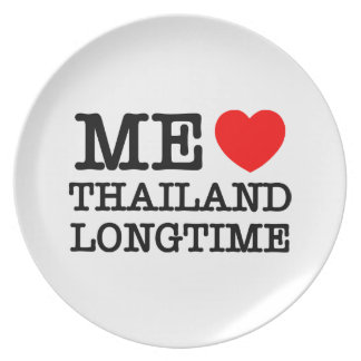 ME LOVE THAILAND LONGTIME PLATE