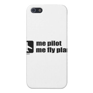 me pilot me fly plane iPhone 5/5S covers