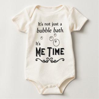 Me Time Bath Bubbles Baby Bodysuit