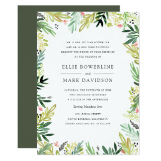Meadow Wedding Invitation