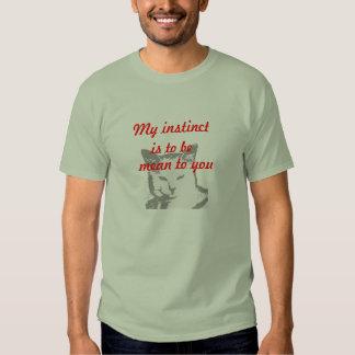 mean kitty tee shirt