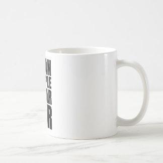 mean people wear fur basic white mug