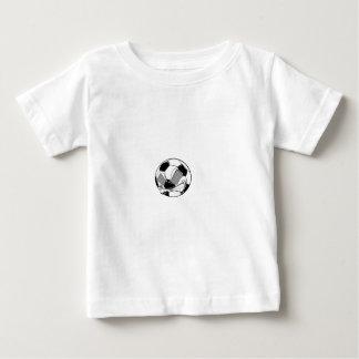 mean soccer ball baby T-Shirt