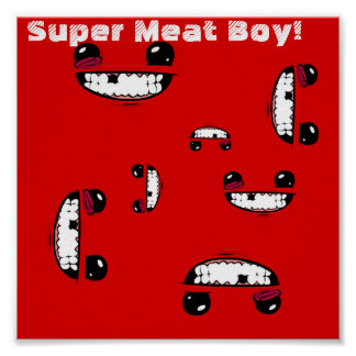Meat Boy Poster