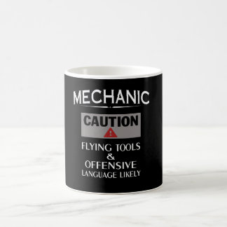 MECHANIC Safety Basic White Mug