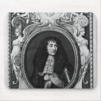 Medallion Portrait of Louis XIV Mouse Pad